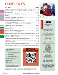 Fall 2012 Brochure By Deerfield Park District - Issuu