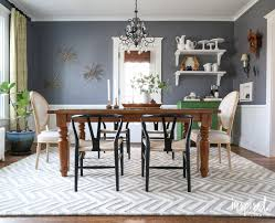 Jute Rug Dining Room Combine With Area Throughout Rugs