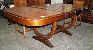 Art Deco Dining Table 6 Room Furniture Uk