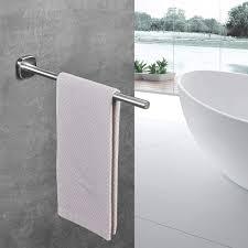 handtuchhalter bad edelstahl gebürstet handtuchhalter wand