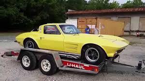 100 10 Ft Uhaul Truck 1964 Corvette Asheville Auto Transport FT YouTube