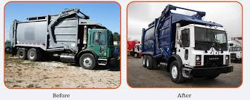 Installation & Painting - Garbage Trucks | Parris Truck SalesParris ...