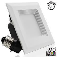 4 inch Square Retrofit LED Recessed Light TORCHSTAR