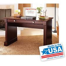 Sauder Computer Desk Cinnamon Cherry Dimensions by Amazon Com Ashwood Road Wood Computer And Writing Desk Cherry