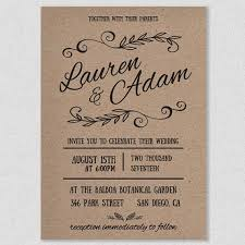 Rustic Wedding Invitations Templates Isura Ink