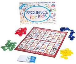Sequence Board Game For Kids