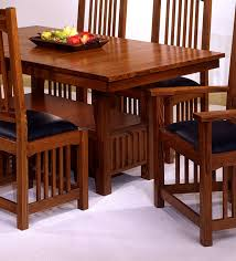 Perfect Usa Made Mission Style Oak Dining Room Set