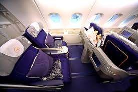 Lufthansa s Airbus A380 Refining Classes Service Flying