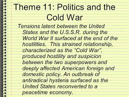 Iron Curtain Speech Apush by Apush Review Politics And The Cold War As Found In Barron U0027s Study