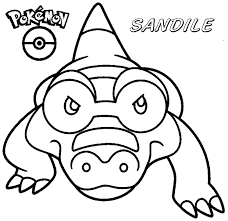 Pokemon Coloring Pages Darumaka 16 Strikingly Inpiration Click To Print Preview Back Homepage With Awesome