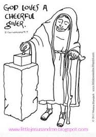 Little Jesus And Me Coloring Pages God Loves A Cheerful Giver Page
