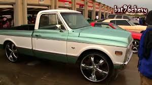 100 Chevy Truck 1970 Chevrolet C10 Short Bed On 26 Wheels 1080p HD YouTube