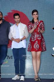 Kriti Sanon Varun Dhawan and Kriti Sanon at Launch of Tukur
