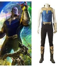 Free Shipping AvengersInfinity War Thanos Summer Suit Film