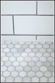 White Marble Hexagon Floor Hex Tile Tiles Main Upstairs Bath Marbles And Grout Uk How To Install A Bathroom