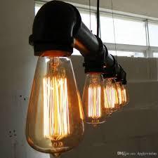Pendant Lights Artistic Five Heads Retro Industrial Waterpipe Design Lamp E27 Lighting Living Room Dining Ceiling Hanging Pendants