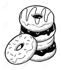 Stack Of Donuts Clipart