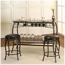 our new wine bar counter height marquee 3 piece bar set at