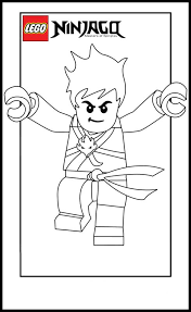 Lego Ninja Go Coloring Pages 5 PagesFree Printable