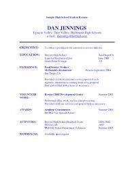 basic objectives for resumes restaurant objective for resume restaurant cook resume sle cv