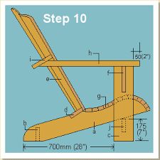 wooden deck chair plans design furniture easy
