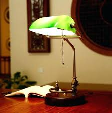 Bankers Lamp Green Glass Shade by Portentous Bankers Desk Lamp For Home Design U2013 Trumpdis Co