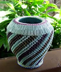 Handicraft Recycled Material Handicrafts From Materials Saipan Prison Art Vessel Made Of