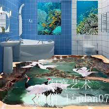 2018 3d dolphins tiles bathroom floor tile tb from yaling168