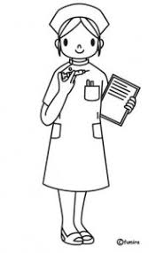 Nurse Coloring Reporter Page