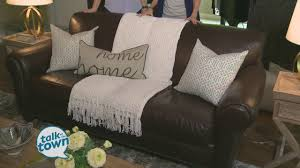 Rooms With Brown Couches by The Decorologist Kristie Barnett Showed Ways To Brighten Up A Dark