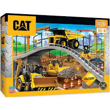 CATERPILLAR Kids' Under The Bridge Right Fit - Construction Trucks ...