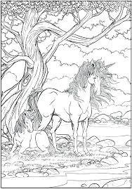 Unicorn Coloring Pages Online With Wings Page