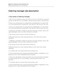 Sample Resume Restaurant Manager Banquet Assistant General