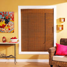 Roll Up Patio Shades Bamboo by Radiance 1 4 In Oval Pvc Indoor Outdoor Roll Up Blind Hayneedle