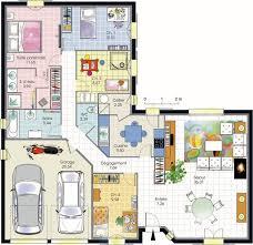 plan maison contemporaine plain pied 3 chambres plan maison moderne 4 chambres 14 de top plain pied systembase co