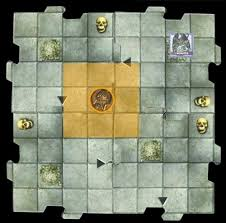 attacking adjacent but across tiles dungeons dragons castle