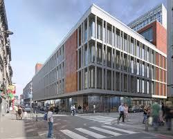immeuble bureau transformation d un immeuble de commerces en bureaux