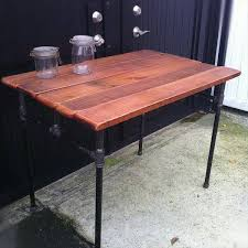 Handmade Pallet Wood Industrial Desk
