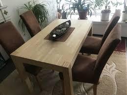 esszimmer tisch mit 4 stühlen
