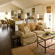 Southern Living Family Rooms by Let There Be White Southern Living Family Rooms And Open Floor