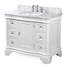 Bathroom Vanities 42 Inches Wide by Katherine 42 Inch Vanity Carrara White U2013 Kitchenbathcollection