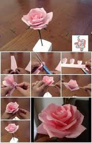 Easy To Follow Step By Instructions Making These Beautiful Looking Flowers Paper