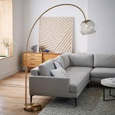Modern Floor Lamps Wayfair by Living Room Tall Lamps Uk Nakicphotography