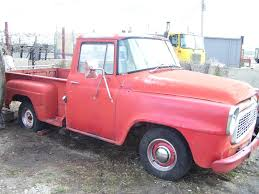 1957 International A110 Short Box Step Side Truck 1/2 Ton No Engine ...