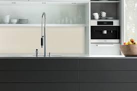 esg glas küchenrückwand in pearl white ral 1013