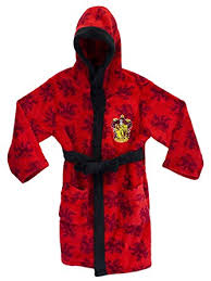 robe chambre enfant harry potter robe de chambre harry potter garçon amazon fr