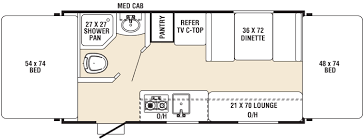 Coachmen Class C Motorhome Floor Plans by Clipper Ultra Lite Travel Trailer Floorplans Texas Coastal Bend