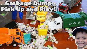 Dinosaurs And Toy CONSTRUCTION TRUCKS For Children | Garbage ... Toy Trash Trucks In Action Garbage Truck With Side Arm Best Kids Playing Pictures Dickie Toys Walmartcom Videos For Children Unboxing Tonka Mighty Dumpster Worlds Recycling Waste Youtube Amazoncom 12air Pump Vehicle For Green Kawo Jack Bruder Video Gym Pickup Front Loader