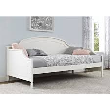 Twin White Bed by Better Homes And Gardens Lillian Twin Daybed White Walmart Com