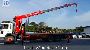 100 Truck Mounted Cranes Crane YouTube